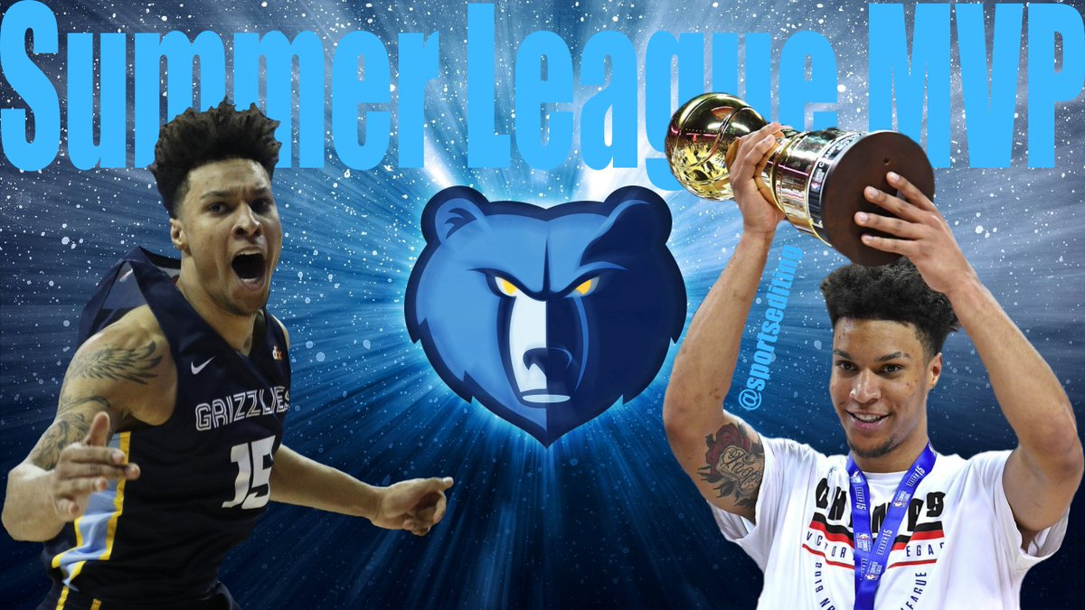 Congrats to @brandonclarke23 for winning #SummerLeague #MVP ! @memgrizz with the steal of the #NBADraft drafting Brandon Clarke at #21 overall? #memphis #grizzlies #nba #basketball #gonzaga
