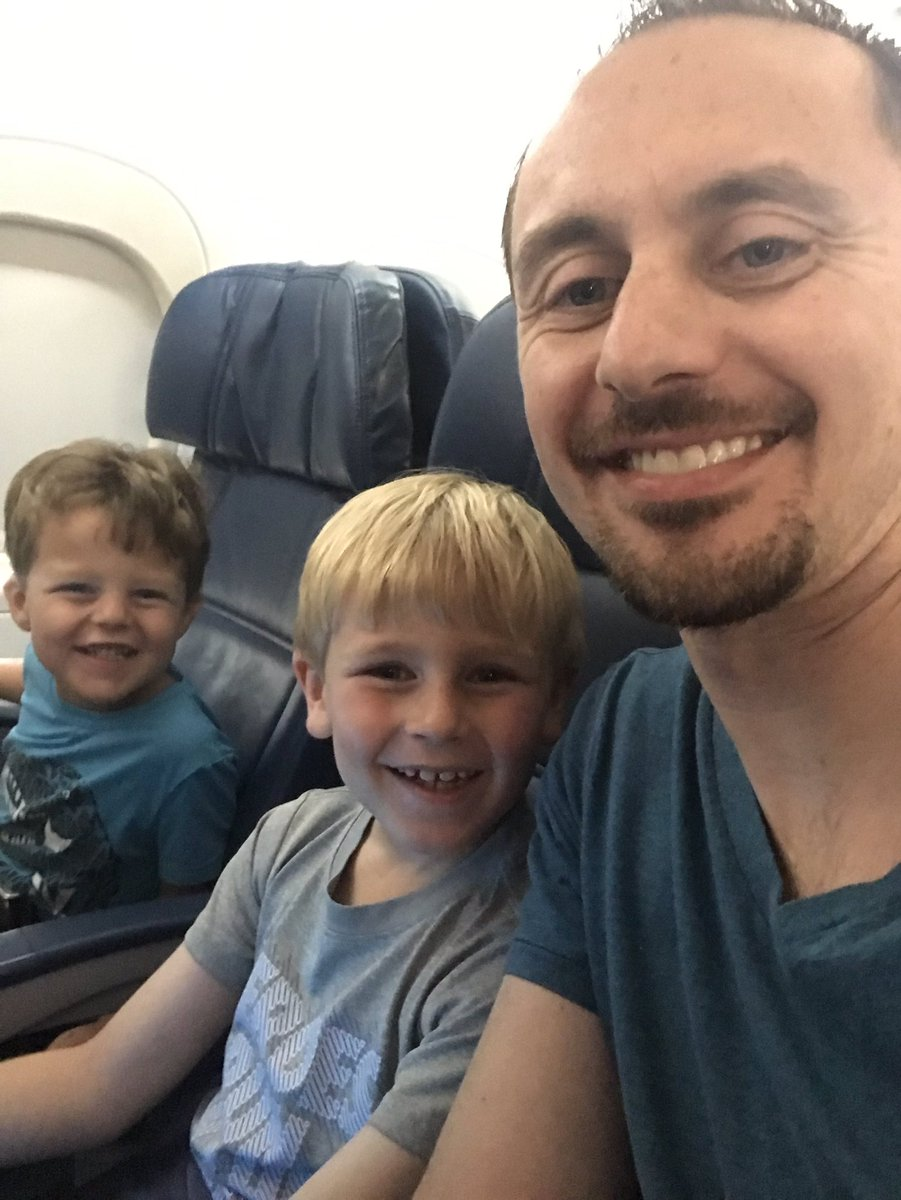My travel buddies today on the way to Atlanta! See you soon @ronclarkacademy fam!