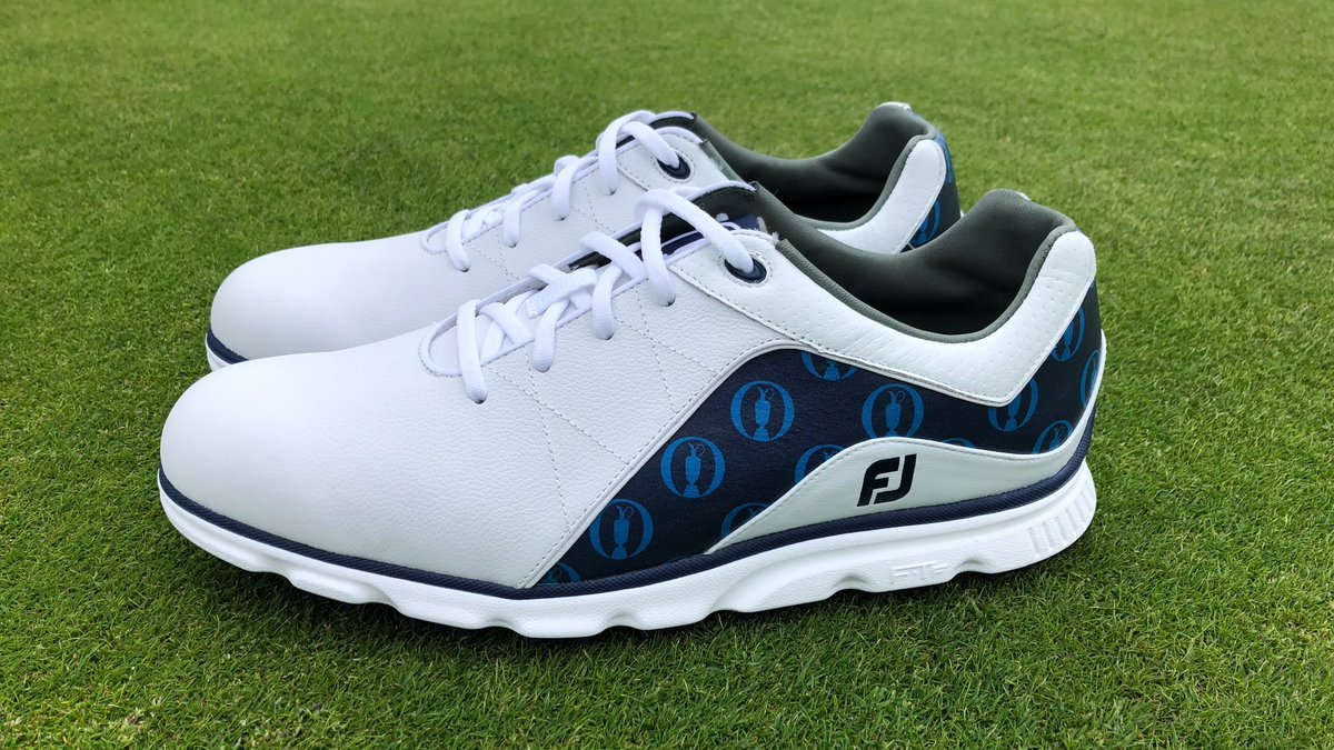🏆 IT'S PRIZE TIME 🏆  We're giving away a pair of #TheOpen Limited Edition #ProSL right here on Twitter!  All you have to do to enter Follow @FootJoy  RT this post