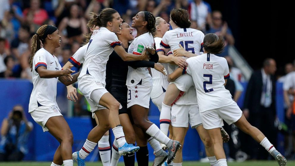 .@USWNT used innovative period tracking to help player performance at #WorldCup. gma.abc/2k44vhg