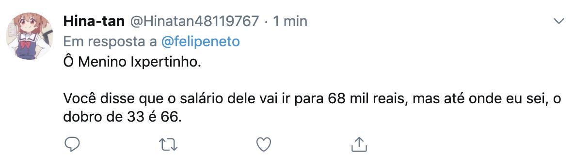 Esse foi o melhor argumento pra defender a família Bolsonaro que eu já vi na minha vida.  Tipo, o cara não tinha NADA pra falar, aí soltou essa: