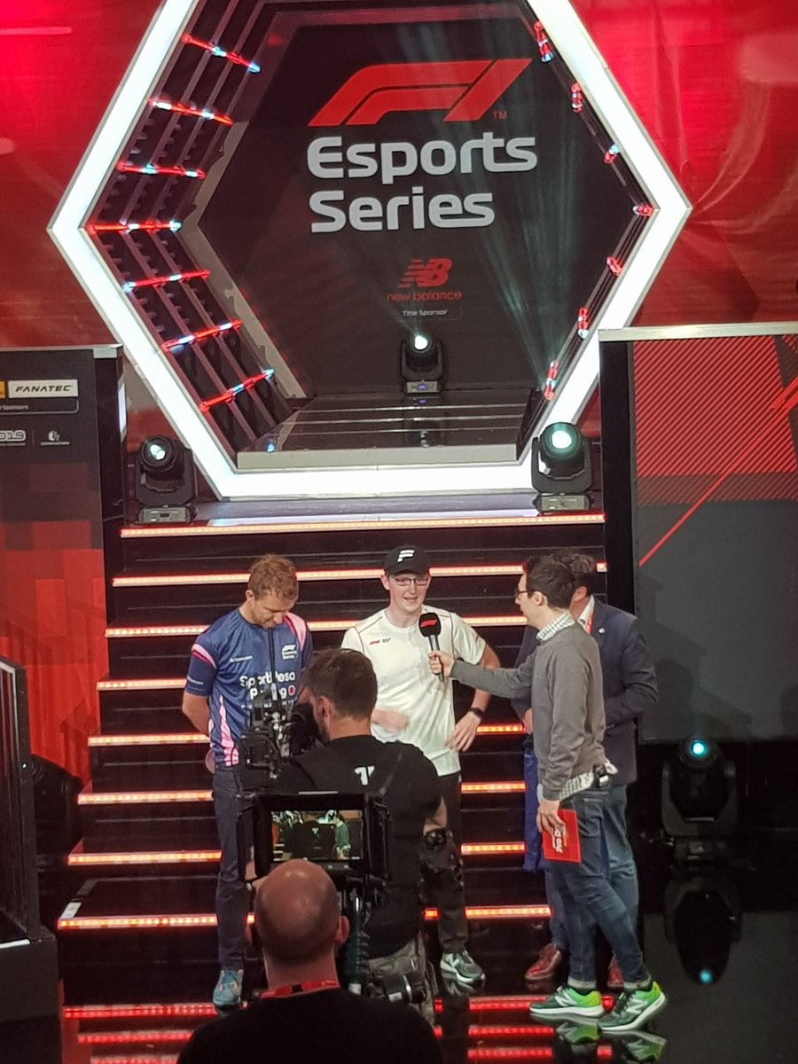 It's @eRacingPointF1 picking their #F1Esports Pro Draft driver from the selection... and they're picking @LucasBlakeley88!  ➡️ http://f1esports.com/live-stream