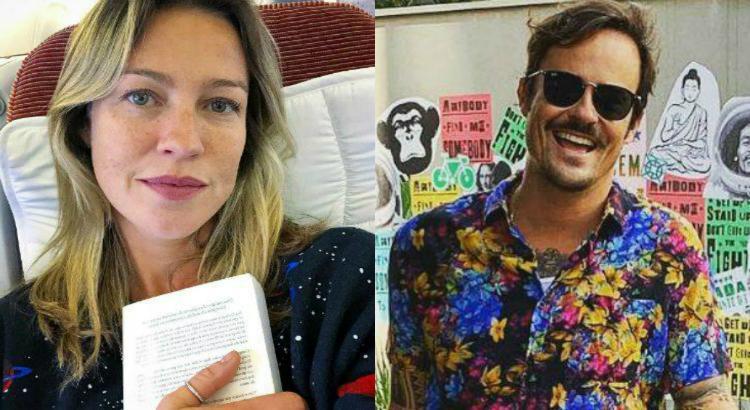 Luana Piovani e Paulinho Vilhena, ex-namorados, revivem paixão em Portugal