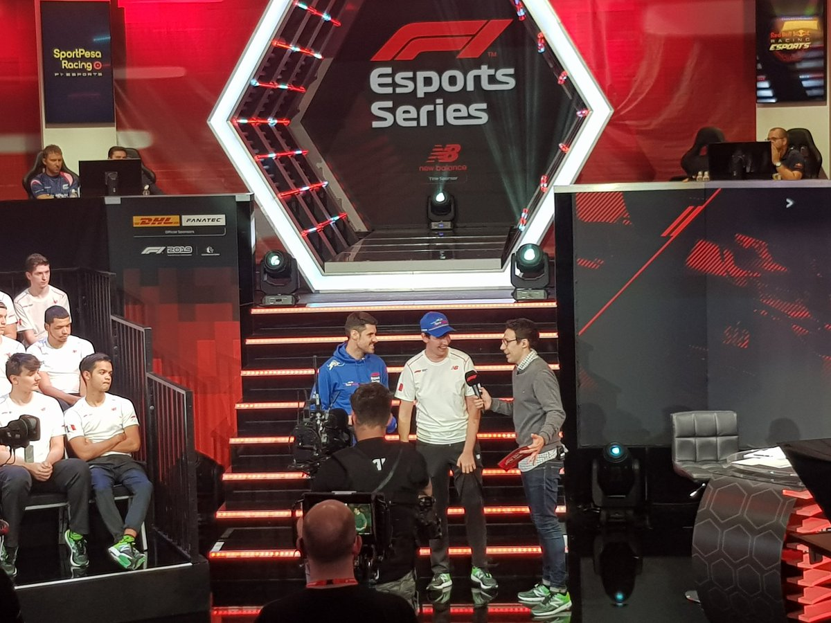 Next up? @ToroRosso! And their #F1Esports pick? @manuelbiancolil!  ➡️ http://f1esports.com/live-stream