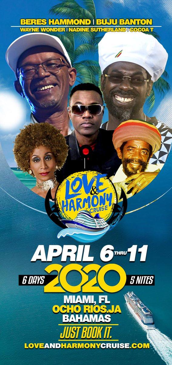 Love And Harmony Cruise 2020.Love Harmony Cruise Landhcruise Twitter