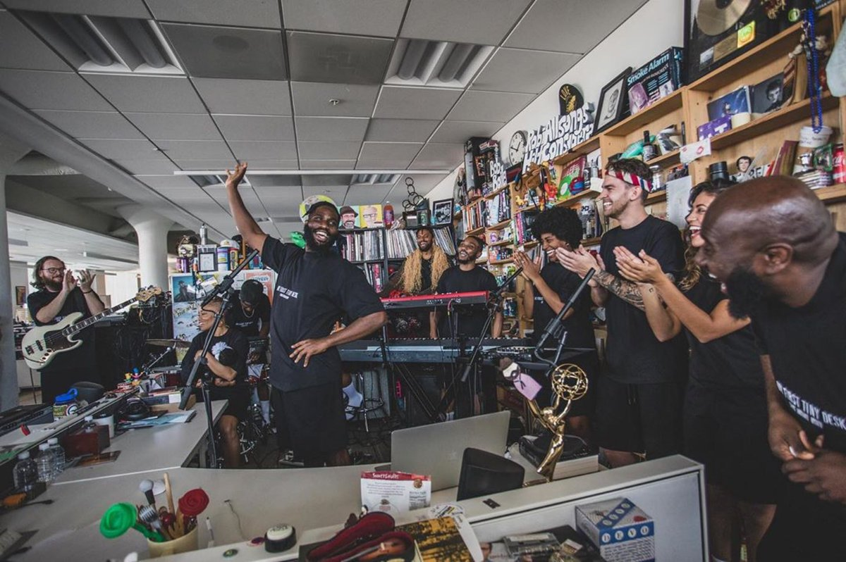 Stay Tuned... #tinydesk 🙏🏿