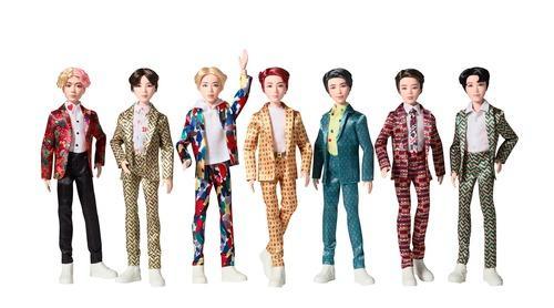 #BTS dolls in the palm of your hand. Pre-order today! tgt.biz/cxlpg 💜 #BTSxMattel