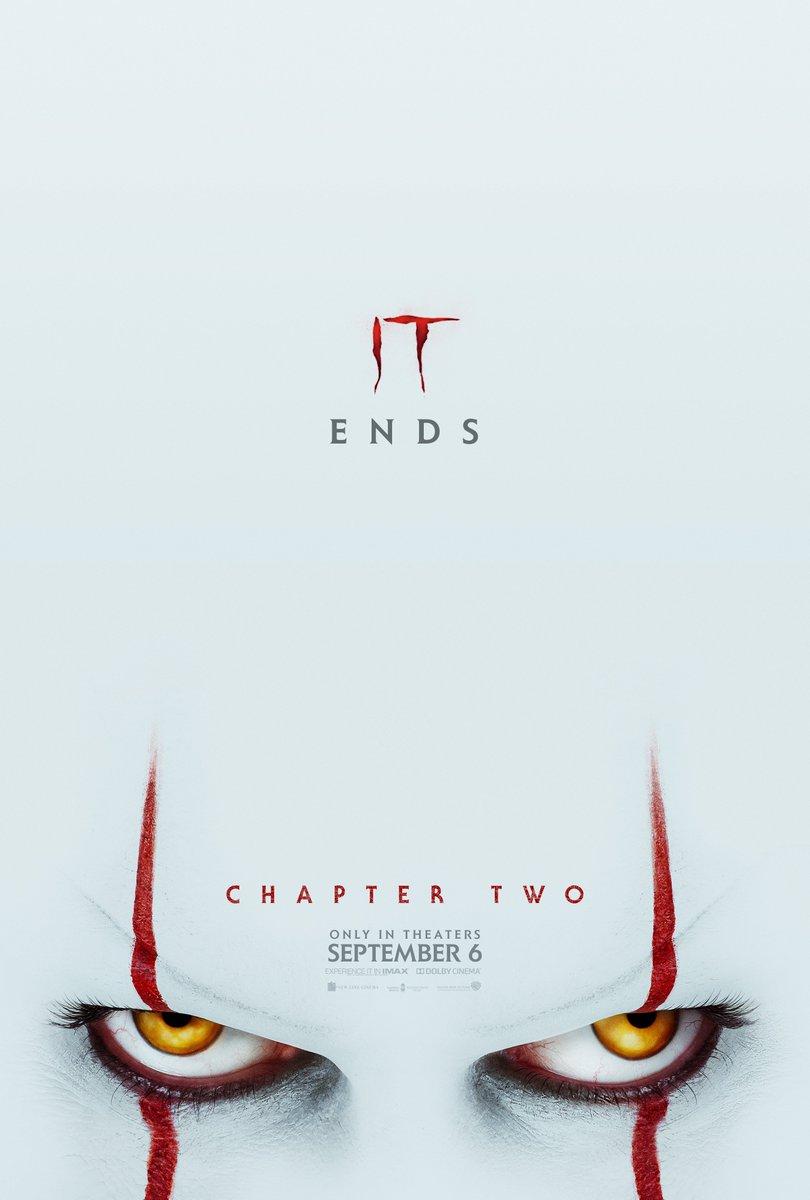 IT ends September 6. Trailer TOMORROW 9AM PT. 🎈🎈#ITMovie