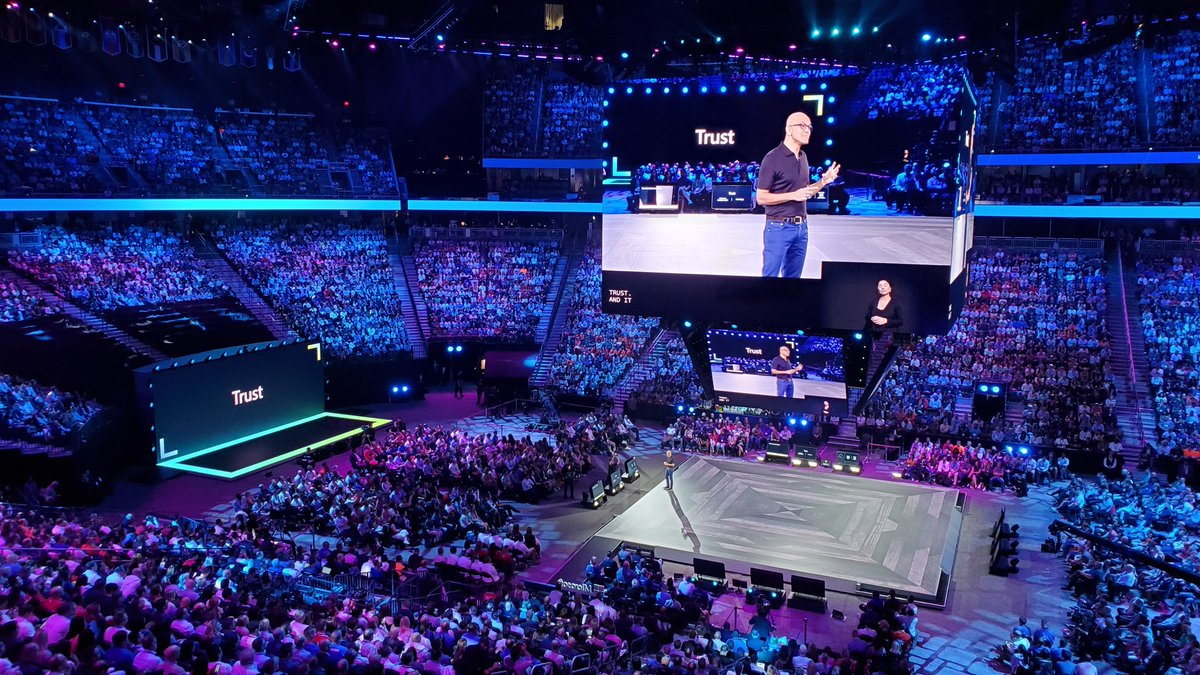 We have to earn trust each day @satyanadella > Microsoft CEO Satya Nadella says 'trust' will push the company ahead of Amazon and Google in cloud computing https://cnb.cx/2JYjqAD  #MSInspire #msready #microsoft #mspartner
