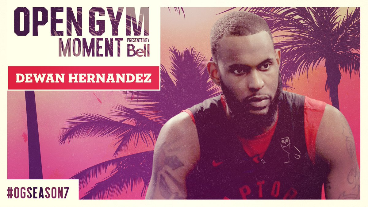 Im joining the world champions. @DewanGoesFor_20 Open Gym - Moment presented by @Bell