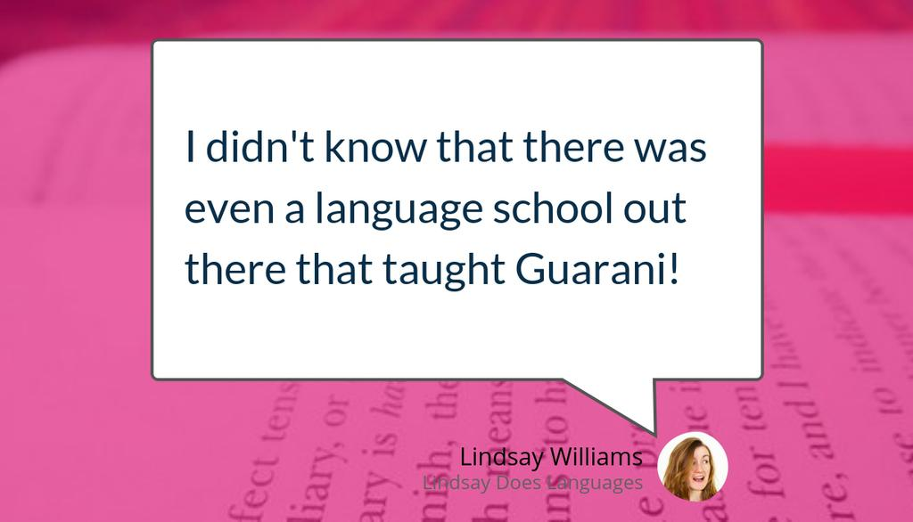 """RT LDLanguages """"From the blog archives: Everything You Need To Know Before Signing Up For Language School Abroad https://lttr.ai/FOHO #Guarani #LanguageLearning #LanguageSchool """""""