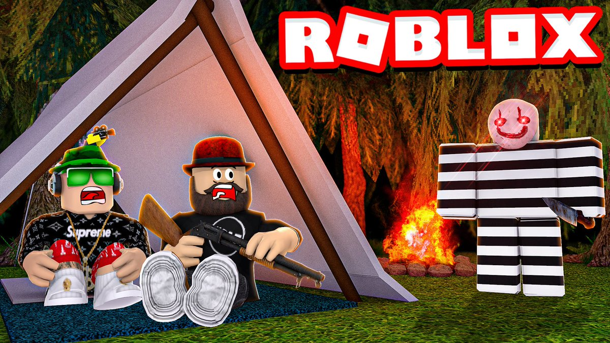 Blox4fun On Twitter Who Is Mystery Murderer In Roblox Camping 2