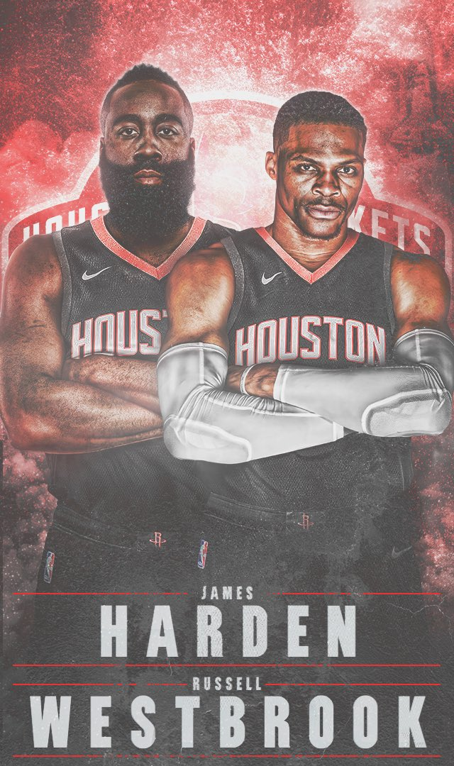 Needed to finish this @HoustonRockets series with the newest duo in the NBA. Can't wait for the season to start. Peep the wallpaper version 👀  IG: https://www.instagram.com/p/B0BhdsAFxSV/?igshid=gjsidthq6ckw…  #russellwestbrook #jamesharden #NBASummer #houstonrockets