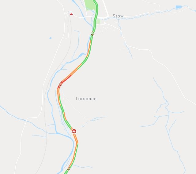 test Twitter Media - *NEW* 17:10⌚  #A7 is ⛔CLOSED⛔ in both directions just south of Stow due to an RTC ⚠️ Traffic building in the area.  @SETrunkRoads https://t.co/vMQGATZfn9