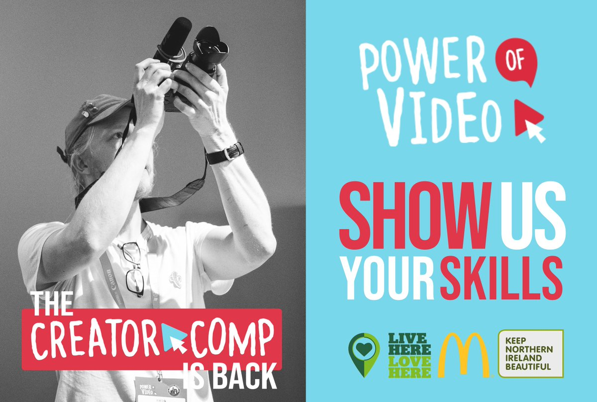 Our #CreatorComp is live until 6th August 11.59pm 📸 If you haven't signed up yet, you still have plenty of time! We can't wait to watch the submissions and don't forget we have a BUNCH of prizes too! https://t.co/rXQkZvGtvu