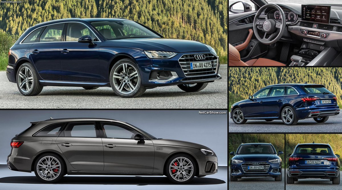 2020 Audi A4 Avant Https Www Netcarshow Com Audi 2020 A4 Avant