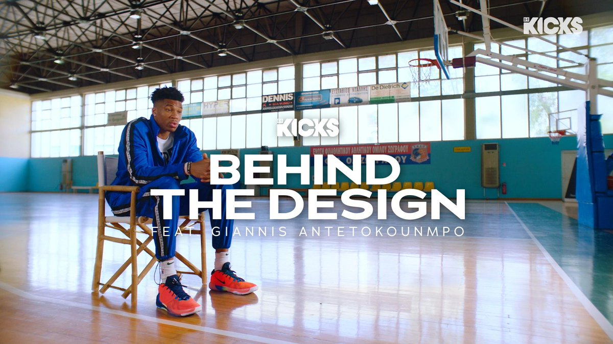 Behind the Design: @Giannis_An34 and Nike VP of Footwear Kevin Dodson give an exclusive look at the Freak 1.