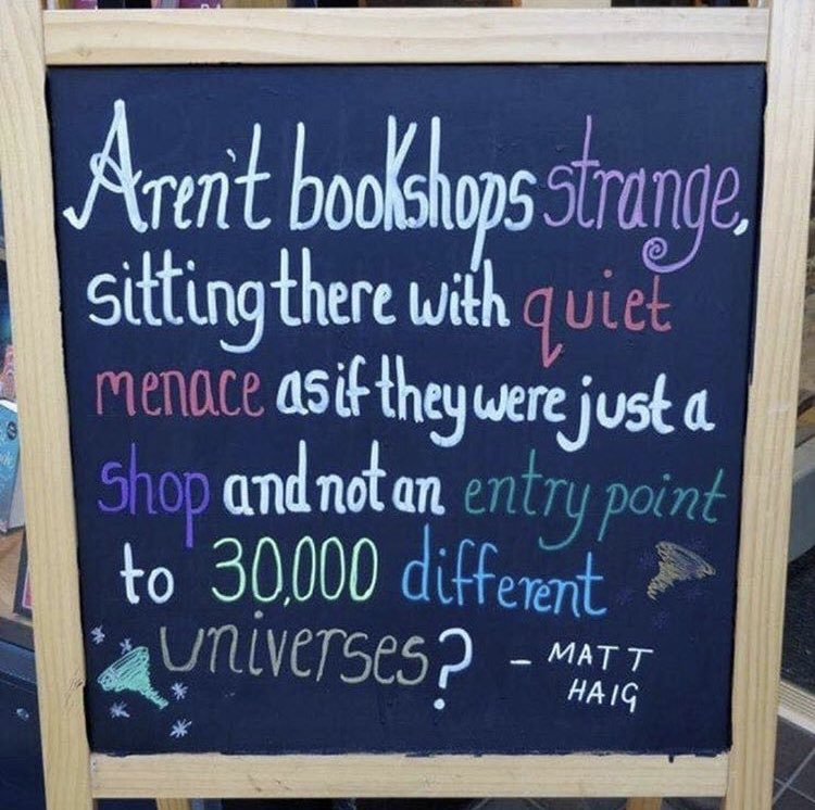 This is your mid-week reminder to visit your local bookstore! 📚😍✨Photo courtesy of @mostlybooksaz 📷
