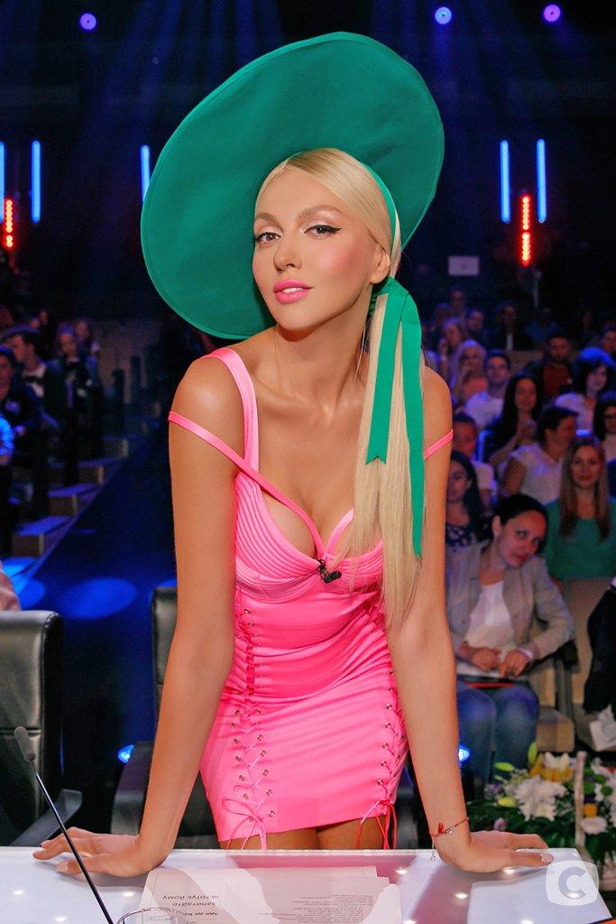 Оля Полякова на шоу Х-Фактор