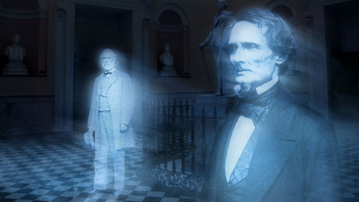 Virginia Agrees To Remove Confederate Ghosts From State Capitol https://trib.al/JpYjWyN