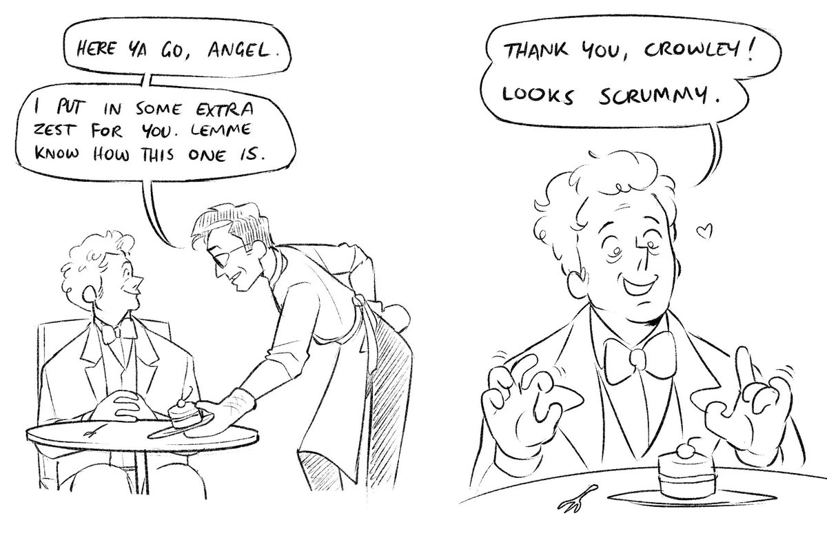 crowley learns to bake so he can make things for aziraphale #GoodOmens  <br>http://pic.twitter.com/TgD452WyEL