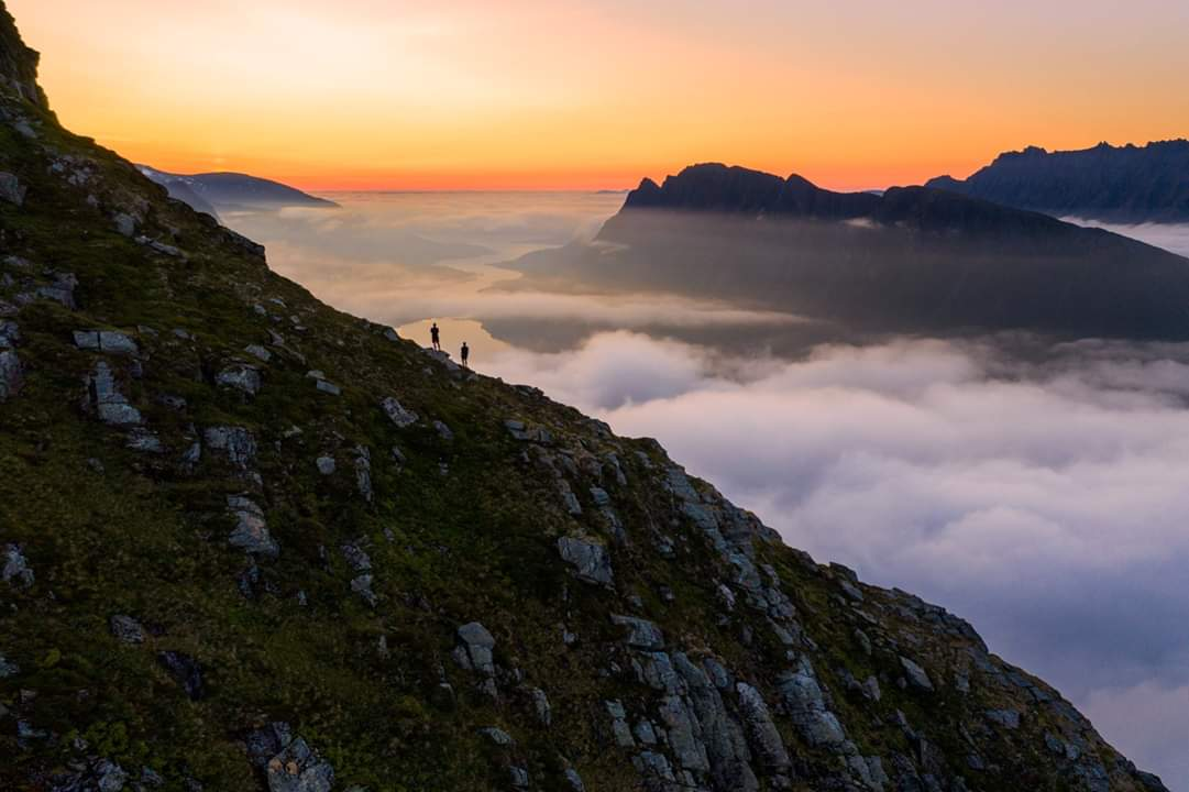 From Sykkylven, @fjordnorway 😊 Photo Per Magne Drotninghaug #mountains #norway #hiking #sunsets @turistforening