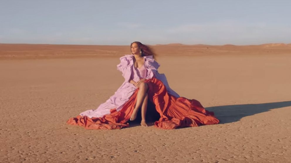 .@Beyonces new music video for #Spirit features these dazzling looks 😍 gma.abc/2YWEwrd