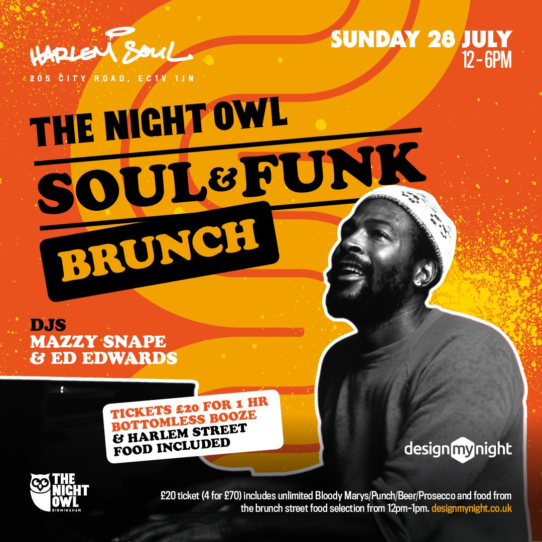 Fancy a trip down to LDN? We're bringing our brunches to the big smoke and the home of soul food @HarlemSoulLDN  London on July 28th - who's in? 🍗 🎶🍹 #brunch #bottomlessbrunch  #soul  Tickets 👉  https://bit.ly/2Y2ggXr