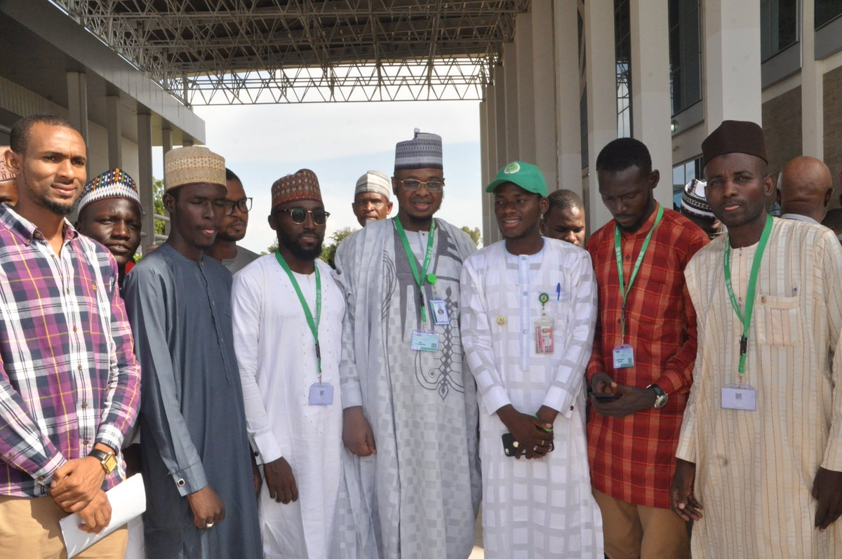 Pictures during the 14th @NigeriaComputer International Conference going on at International Conference Center, Gombe, Gombe State. #NCSGombe2019 #DigitalTransformation #NITDA19 #NITDA