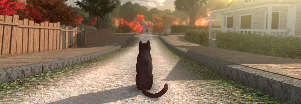 "I am so, so into this. ""Peace Island"" will be [...] a non-violent interactive story which will focus on discovery, atmosphere, and exploration, rather than combat. Play as any of 9 cats to find out why your humans disappeared. #PeaceIsland unilad.co.uk/gaming/solve-m…"