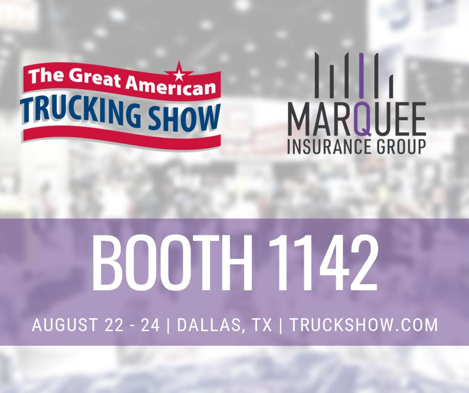 Come to #GATS to learn more about our company and what we can do for your business! Call us today to learn more about how we can get you a ticket to the show! http://www.marqueeig.com 678-483-8151 #truckingshow #tradeshow #texas #dallas #truckdrivers #insurance #truckinginsurance