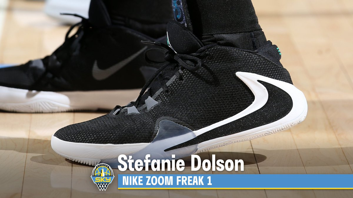 👟 @bigmamastef with the Nike Zoom Freak 1 🔥 #WNBAKicks