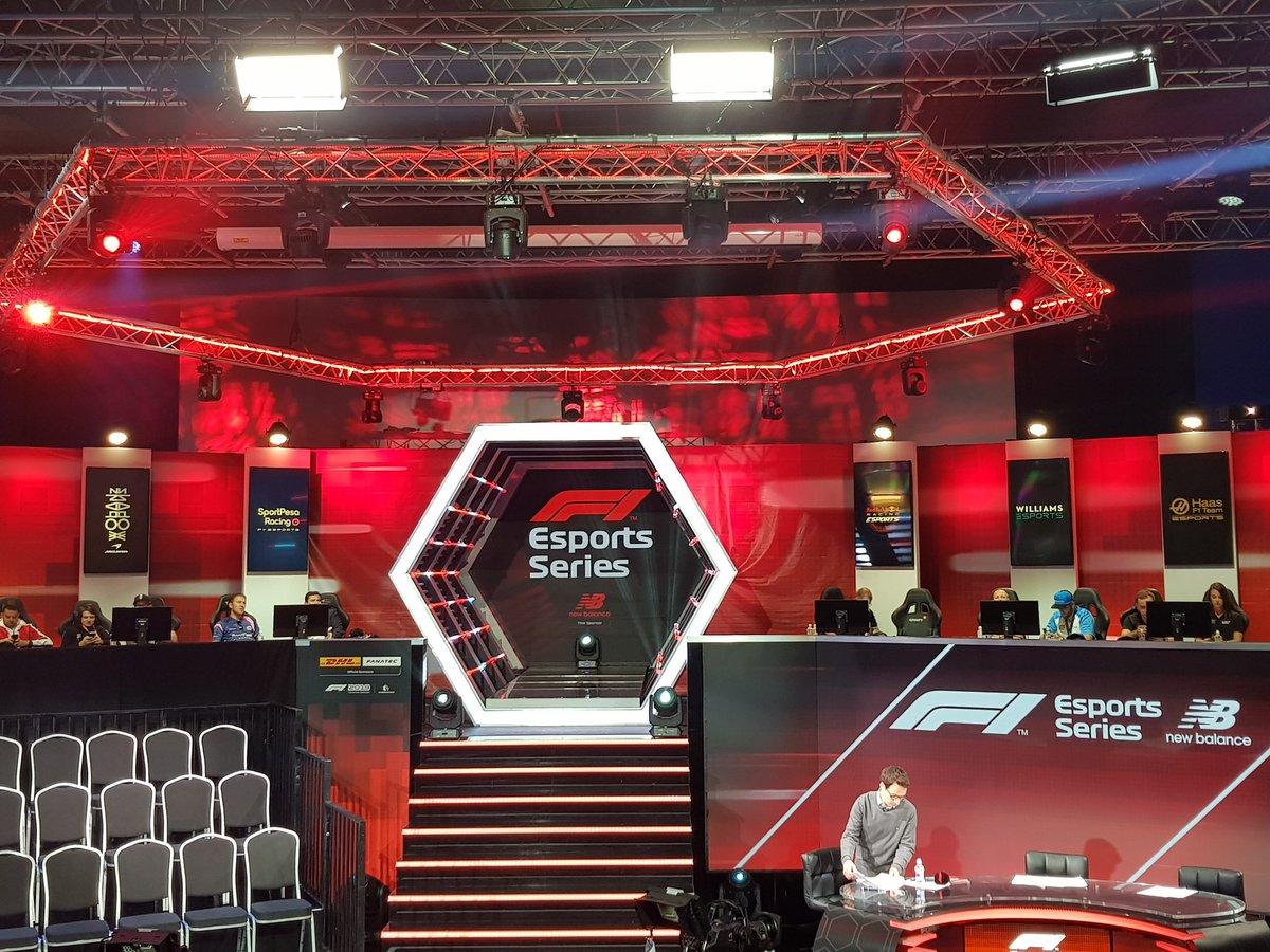 10 minutes to go until #F1Esports...  ➡️ http://f1esports.com