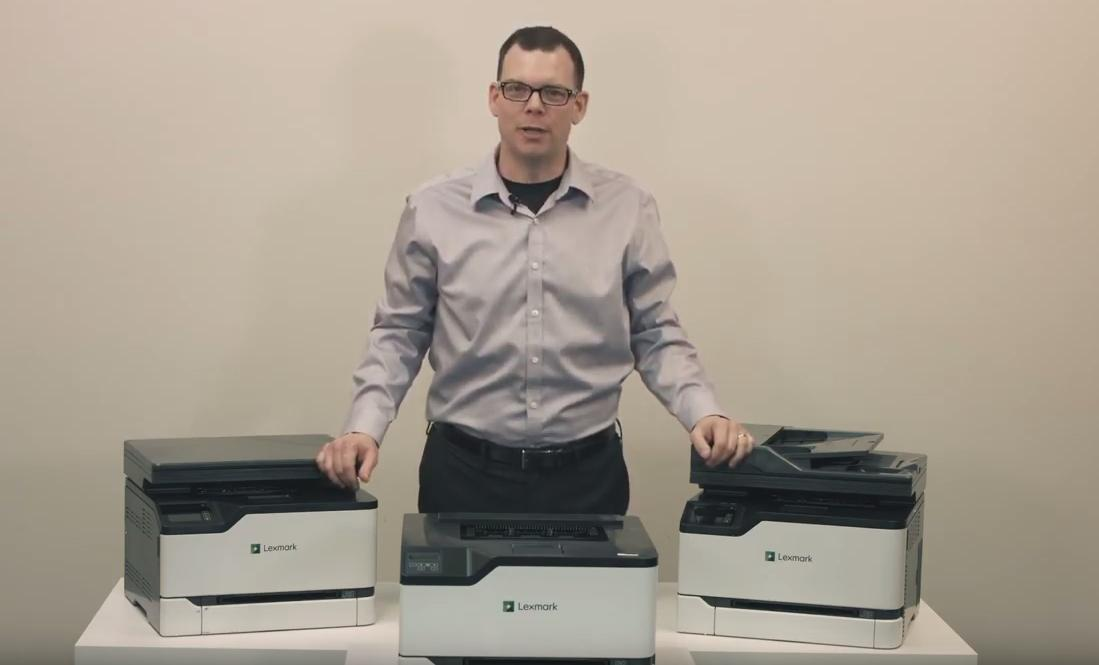 Lexmark announces the Lexmark GO Line™ series of Printers and MFPs. Watch as Lexmark's Ron Wells, demonstrates these new compact and powerful color and monochrome devices: https://youtu.be/luk-Vq-Bzr8