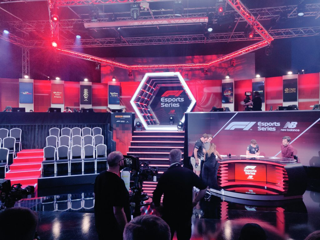 It's nearly time to choose our teammate.  🤜🤛 #F1Esports #McLarenShadow  Watch here 👀➡️ http://f1esports.com