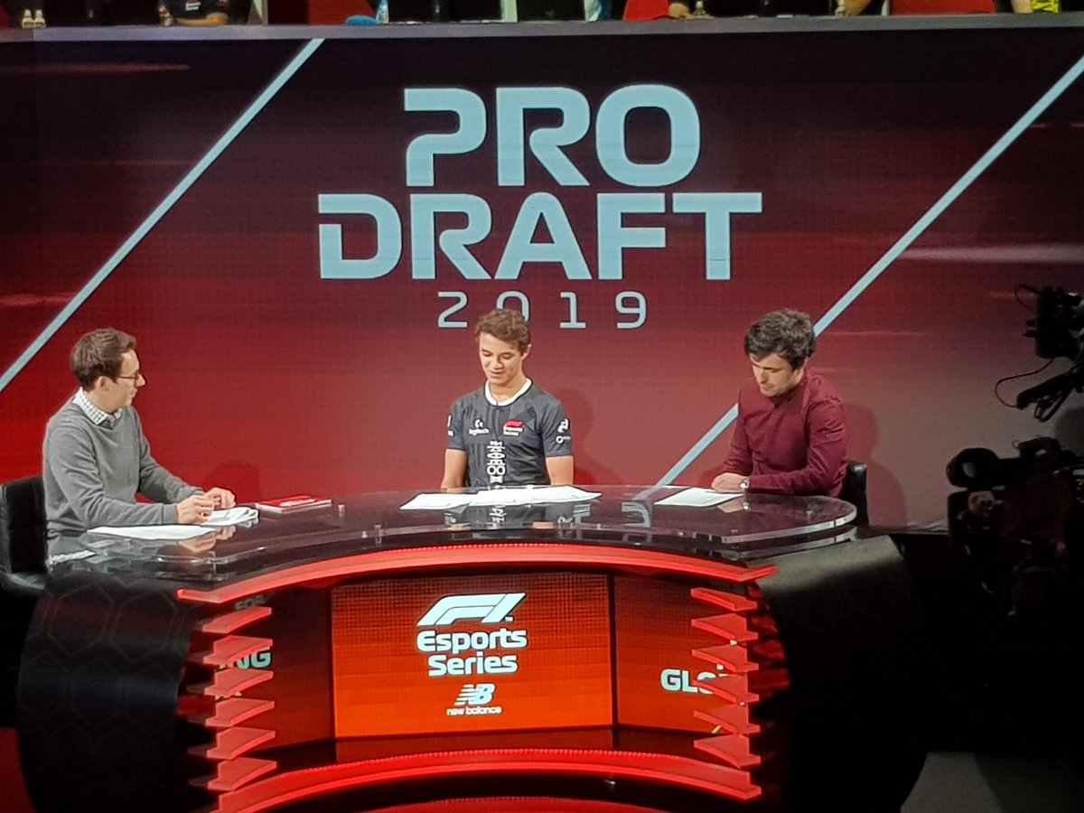 Hello @TomHDeacon, @MattyWTF1  and @LandoNorris!  Join us for the #F1Esports Pro Draft right here! ➡️ http://f1esports.com/live-stream