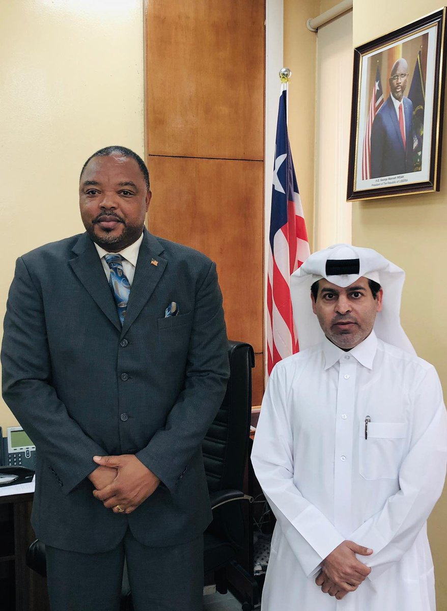 Deputy Prime Minister and Minister of Foreign Affairs @MBA_AlThani_ Sends Written Message to Liberian Foreign Minister bit.ly/2LVkp92 #MOFAQatar