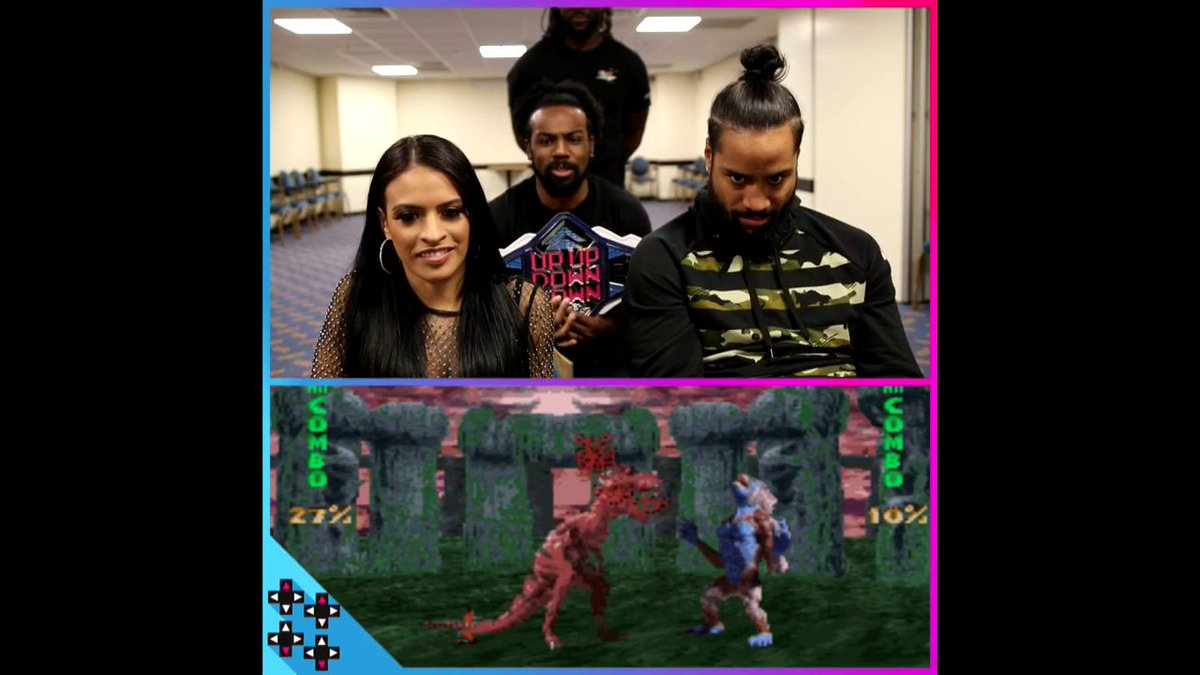 Things are getting wild on the title scene as @Zelina_VegaWWE CHALLENGES the #UUDDChampion Jimmy (@WWEUsos)! #UUDD2MIL https://www.youtube.com/watch?v=ukkF-yUzA9Q…