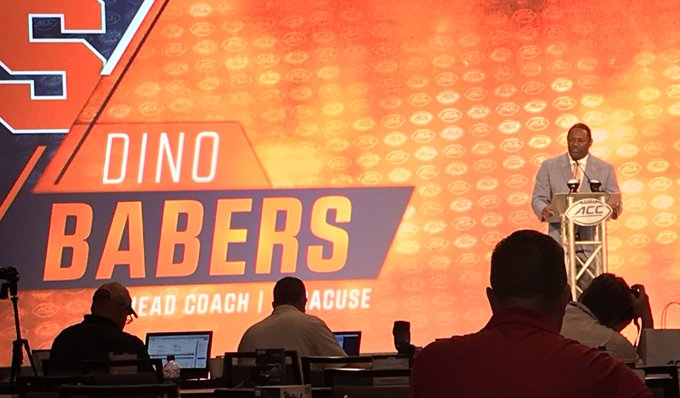 Babers talks Clemson, Liberty and moon landing at ACC Media Days