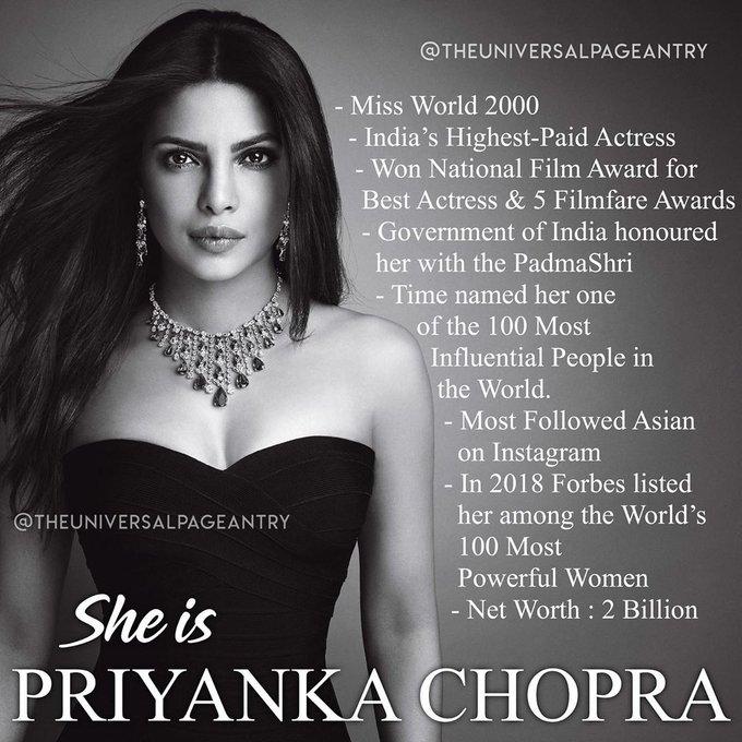 Happy Birthday Priyanka Chopra Jonas