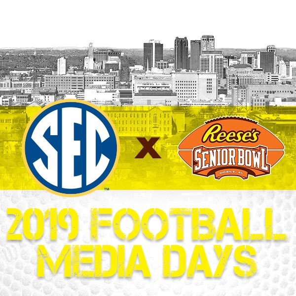 .@OleMissFB only brought one senior (OL Alex Givens) to SEC media days but we're interested in a bunch of Rebels for 2020 Reese's Senior Bowl—RB Scottie Phillips, DL Benito Jones and Josiah Coatney, EDGE Qaadir Sheppard, and CB Myles Hartsfield. #thedraftstartsinMobile #SECMD19
