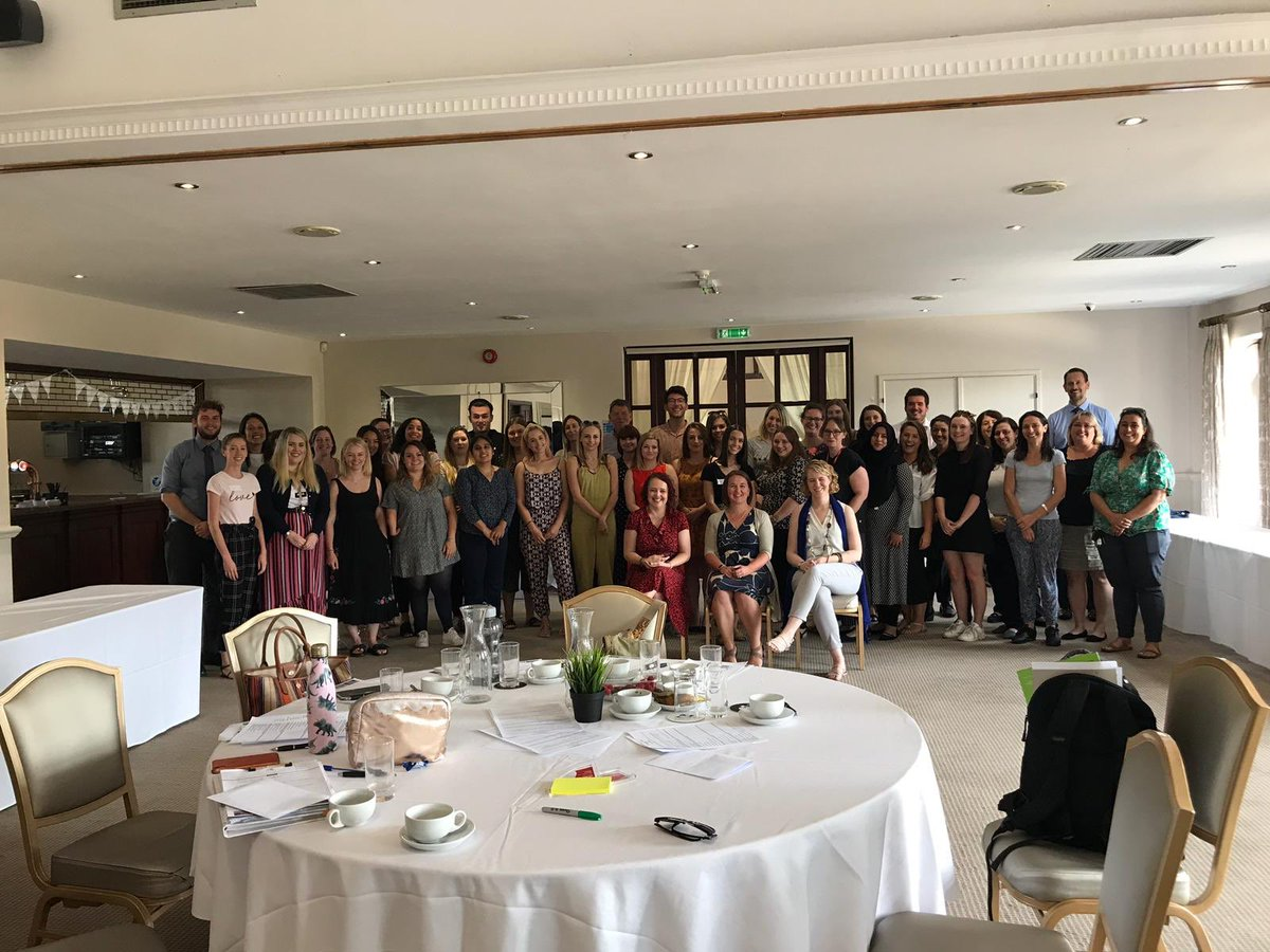 An incredible cohort of new teachers ready to start work in their schools - lucky children! We have loved working with you all and remember that you will always be in the SSF SCITT family! #lovetoteach
