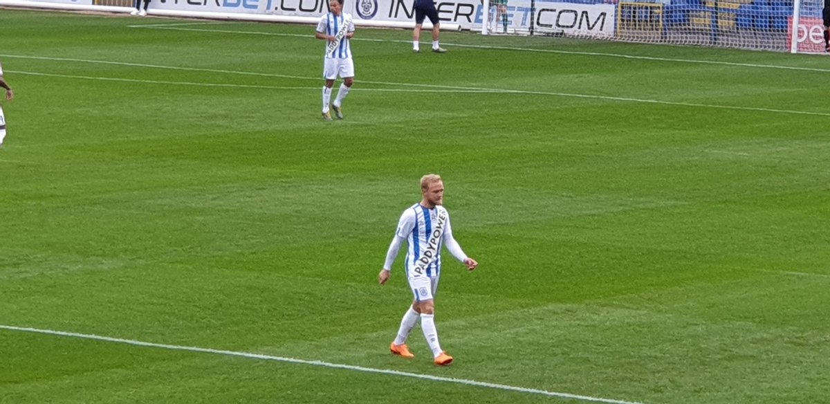 The huddersfield town kit is real and it does look quite bad