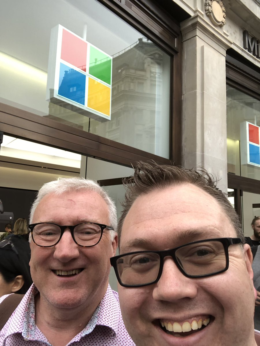 What a day. In London @BDAdyslexia empowering conference #MicrosoftEdu visit to #microsoftLDN store with @Tutorum  good day #dyslexia #accessibly