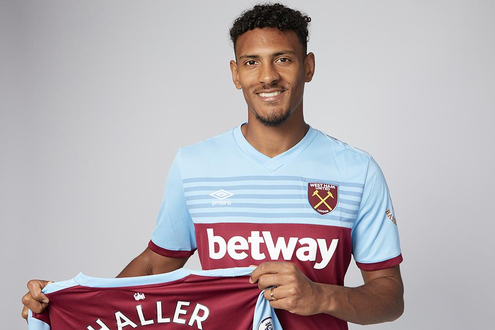 @WestHamUtd have completed the club-record signing of Sebastien Haller from Eintracht Frankfurt 👉 preml.ge/pa578w