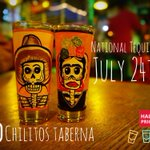 Image for the Tweet beginning: July 24th is National Tequila