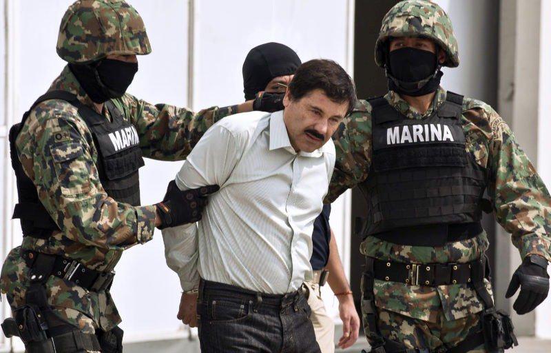 Drug kingpin El Chapo sentenced to life in US prisonhttps://siliconeer.com/current/drug-kingpin-el-chapo-sentenced-to-life-in-us-prison/…#Chapo' #City #escorted #Guzman #Joaquin #Marines #Mexico #presented #reporters #soon