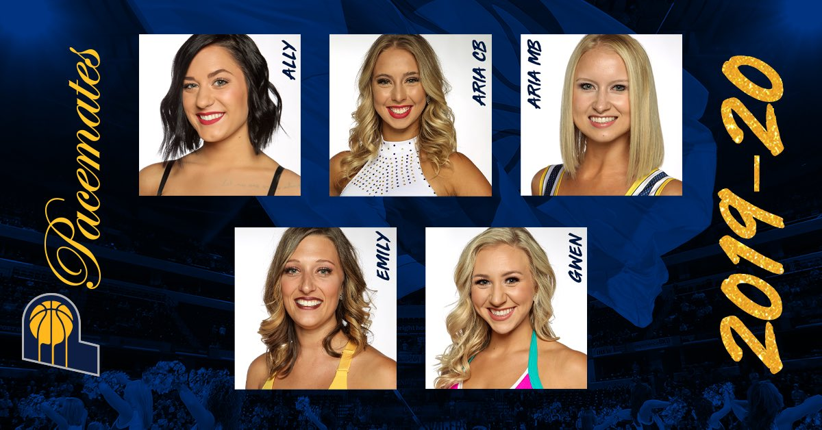 The wait is over. Here are your 2019-20 Indiana Pacemates! Congrats, ladies!