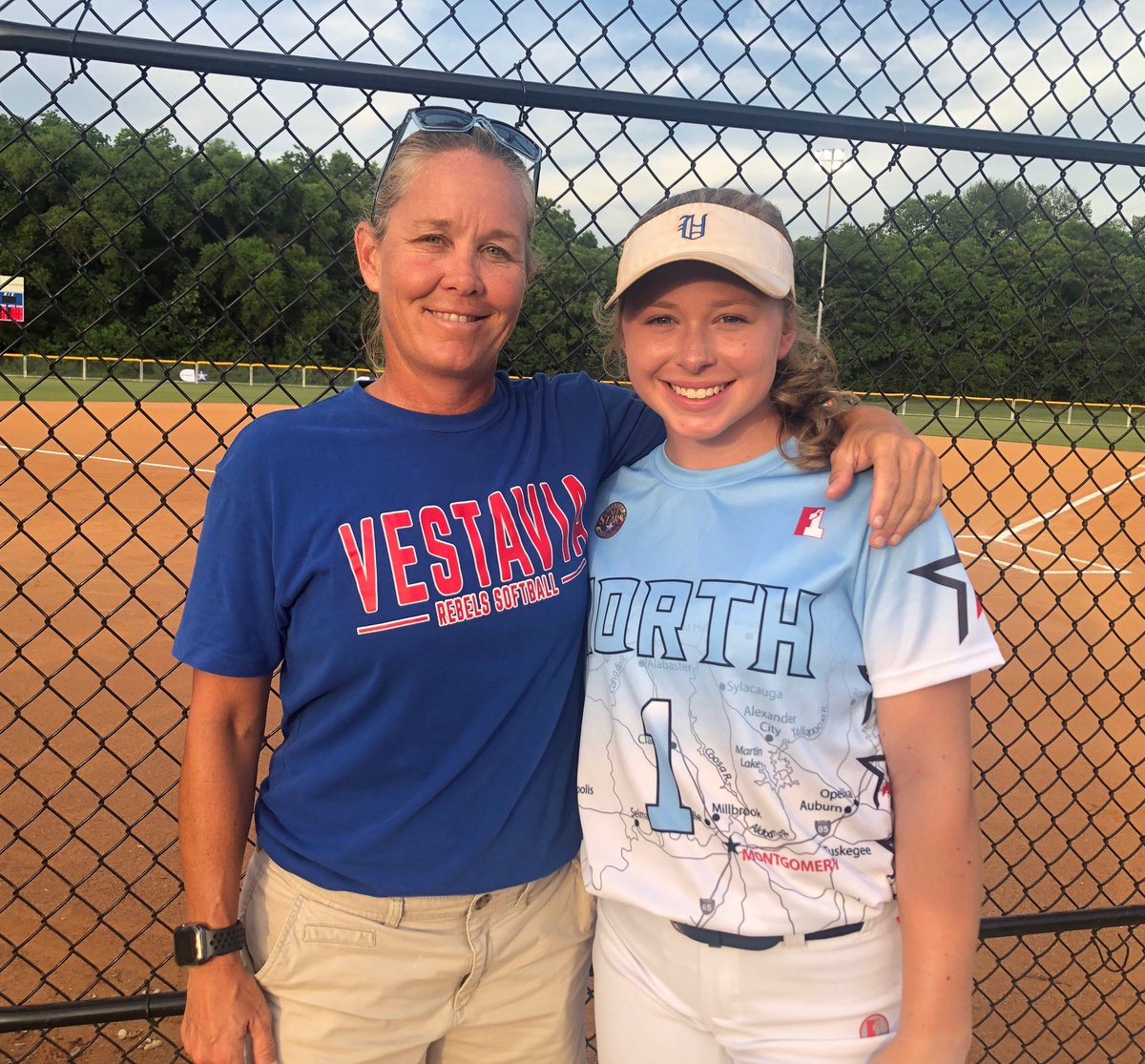 So proud of Mary Claire Wilson representing Vestavia at the North-South All Star game tonight in Montgomery. Go get 'me MC!! https://t.co/v90mkyq2C3