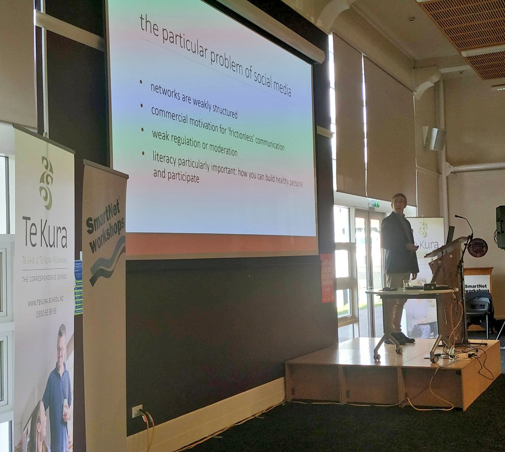 test Twitter Media - Donald Matheson, Media & Communication, @UCNZ on Handling #FakeNews and Flaky Views at #ELF19NZ Education plays a  important role in tackling prejudice in #SocialMedia by demonstrating the links between hateful comments and actions. #OnlineSafety #credible #INFORMATION https://t.co/IHRMm8pAwi